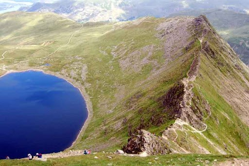 Helvellyn and Striding Edge