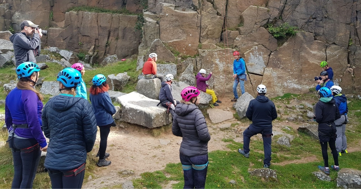 Introduction to Rock Climbing in the Peak District