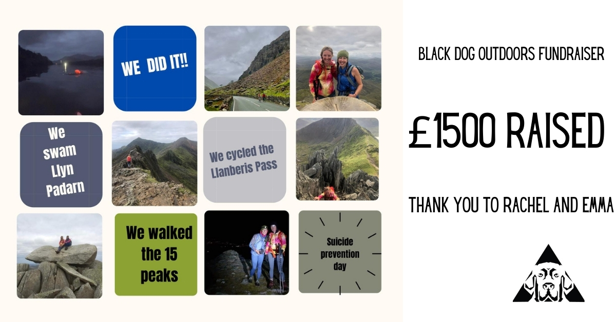 £1500 Raised for Blackdog Outdoors